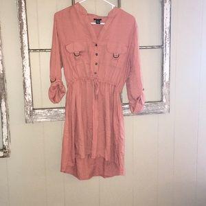 Rue21 Dresses - Pink tie dress